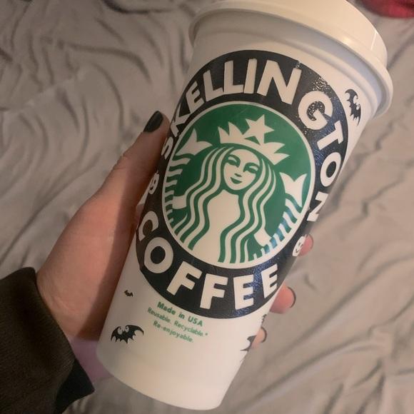 Custom Starbucks hot cup.